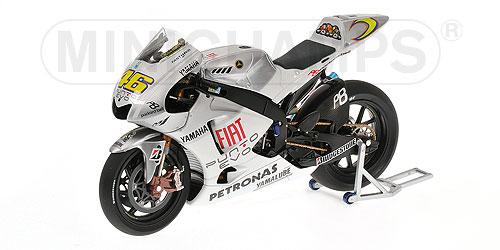Yamaha YZR M1 V.Rossi GP Valencia 2007 1//12 Minichamps 122073176